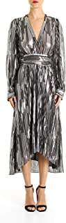 IRO Luxury Fashion Womens 19WWM33EUREKANEROARGENTO Silver Dress | Fall Winter 19