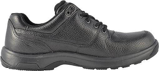 Black Waterproof Milled Leather