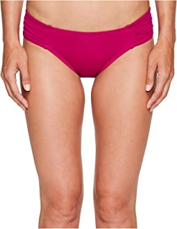 La Blanca Island Goddess Side Shirred Hipster Bottom