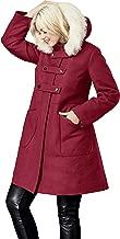 Best wool coat with faux fur trim Reviews