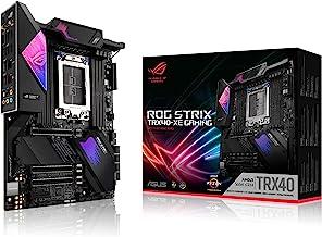 ROG Strix TRX40-XE Gaming AMD sTRX4 3rd Gen Ryzen Threadripper ATX Motherboard (16 Power Stages, PCIe 4.0, WiFi 6, OLED, T...