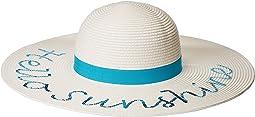 San Diego Hat Company - PBL3091OS Paperbraid w/
