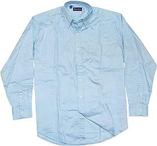 Polo Purple Label Mens Cotton Oxford Dress Shirt Italy Light Blue