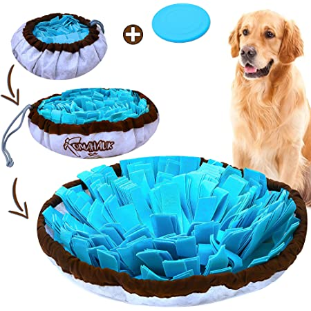 TOMAHAUK Snuffle Mat for Dogs – Interactive Feed Game/Dog Puzzle Toy That Helps with Stress Relief, Foraging Skills, Brain Stimulation and Boredom