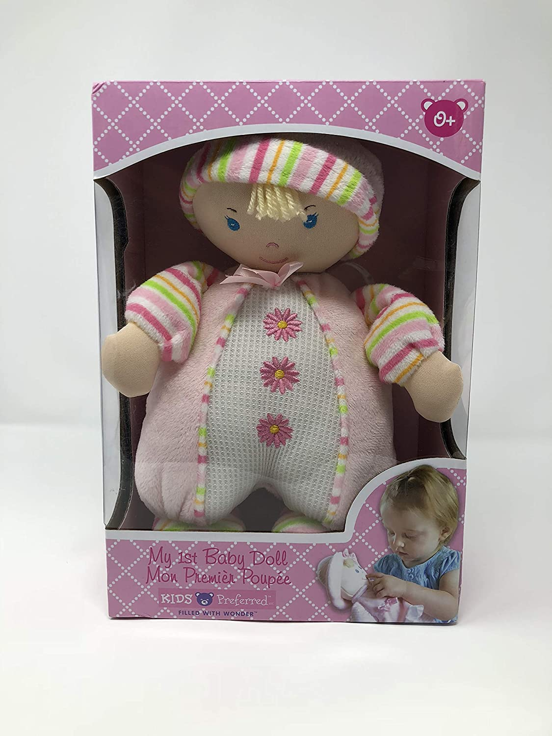Kids Preferred My 1st Baby Doll 10.5 Soft Doll in Various Outfits by Kids Preferred