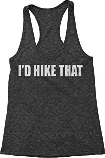 I'd Hike That Triblend Racerback Tank Top for Women