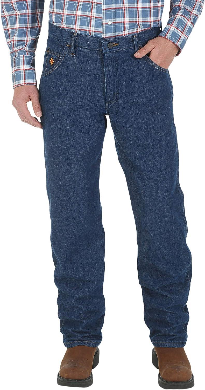 Wrangler mens FR Flame Resistant Regular Fit Lightweight Jean