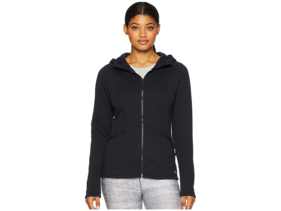 Under Armour UA Seeker Hoodie (Black/Black/Charcoal) Women