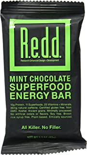 REDD BAR BAR ENERGY MINT CHOCOLATE