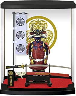 Authentic Samurai Armor Crafted office and home furnishings, personalized business gifts expressing willpower Japanese symbol series Tokugawa Ieyasu