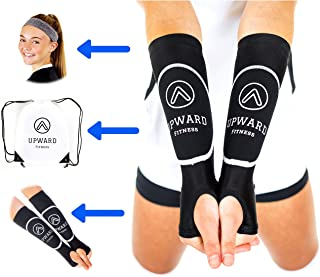 Upward Fitness - Volleyball Arm Sleeves for Girls and Boys -Package Deal Bundle- Protect Arms from Sting -Pass Ball from C...