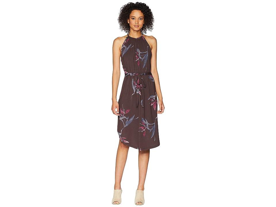 Lucky Brand Halter Neck Dress (Multi) Women