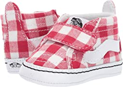 (Gingham) Racing Red/True White