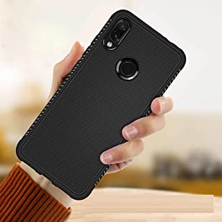 Ankirant Soft Silicon Flexible Back Case Cover for Mi Xiaomi Redmi Note 7 / Note 7 Pro/Note 7S (Black)