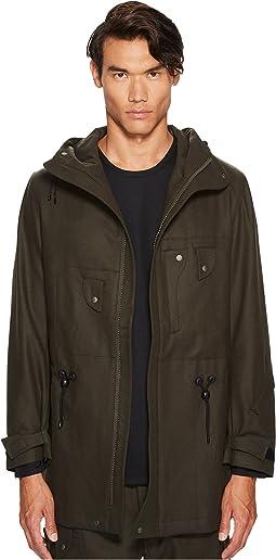 Wool Utility Short Coat