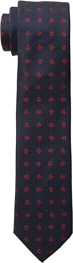 Star Wars™ Storm Trooper Micro Dot Silk Tie (Toddler/Little Kid/Big Kid)
