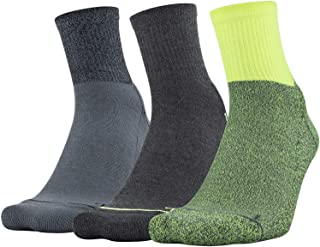 Under Armour Adult Phenom Quarter Socks, 3-Pairs