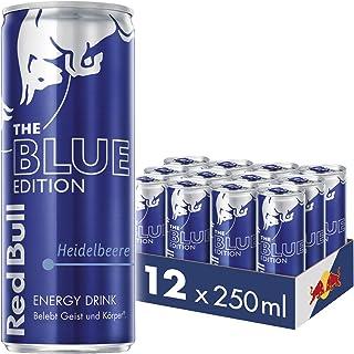 Red Bull Red Bull Energy Drink Heidelbeere Dosen Getränke Blue Edition 12er Palette, EINWEG 12 x 250 ml