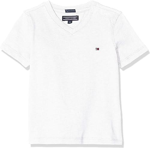 Tommy Hilfiger Basic VN Knit S/S T-Shirt Garçon,