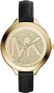 Best michael kors leather bracelet watch Reviews
