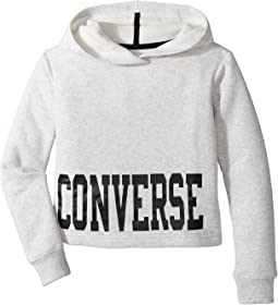 Converse Kids - Collegiate Cropped Pullover (Big Kids)