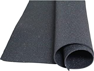 acerto 31704 Building protection mat made of rubber granules - 3.00m x 1.00m x 10mm * For all floors * Permanently loadabl...
