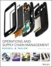 Best operations and supply chain management 9th edition wiley Reviews