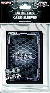 Yu-Gi-Oh! - Dark Hex Card Sleeves (50 Pack)