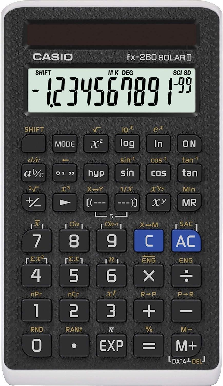 Al sold out. Casio FX 260 Solar II Bombing new work Scientific Calculator