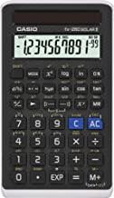 """ماشین حساب علمی Casio مشکی ، 3 """"W x 5"""" H ، 2.25 (FX-260 SOLARII-S-IH)"""