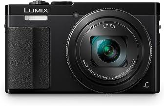 Panasonic DMC-TZ70, Cámara Compacta de 12.1 MP (Super Zoom, Objetivo F3.3-F6.4 de 24-720 mm, Zoom de 30X, Estabilizador Óptico, FHD, WiFi, Raw), HDMI, Negro