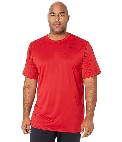 Nike Big Tall Legend 2.0 Short Sleeve Tee (Gym Red/Black) Men