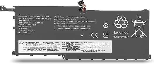 BatteryMon 00HW028 Battery for Lenovo Thinkpad X1 Carbon 4th Gen 2016 / ThinkPad X1 Yoga 1st 2nd Ultrabook, P/N: 00HW029 SB10F46466 SB10F46467 01AV438-15.2V 3290mAh
