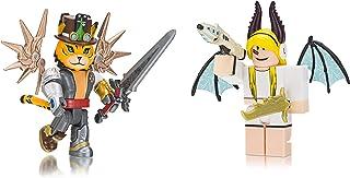 Roblox Celebrity Collection - TigerCaptain + Erythia Two Figure Bundle [Includes 2 Exclusive Virtual Items]