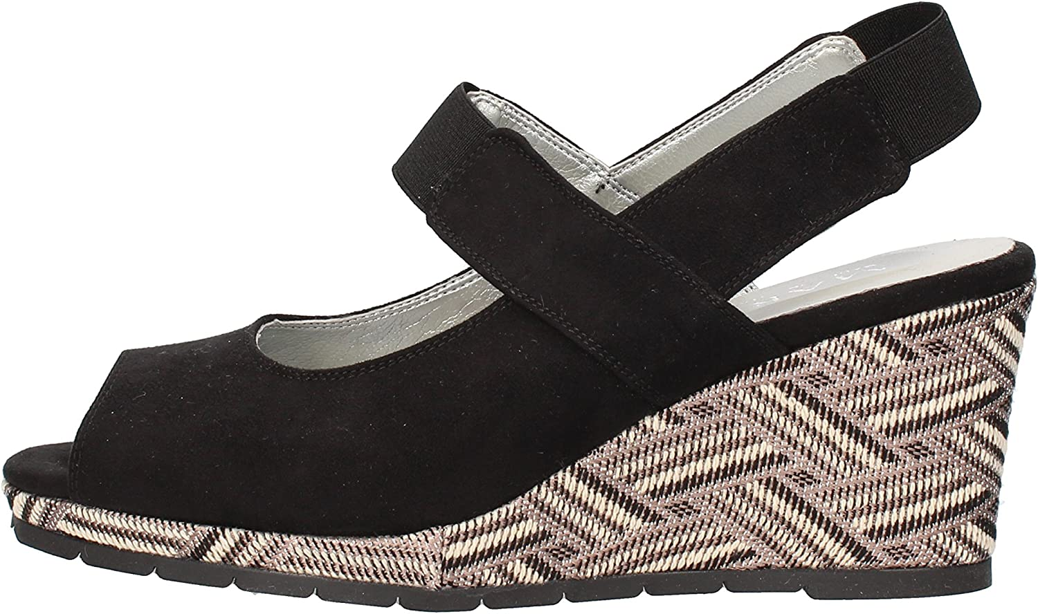 MARY COLLECTION Sandals Womens Suede Black
