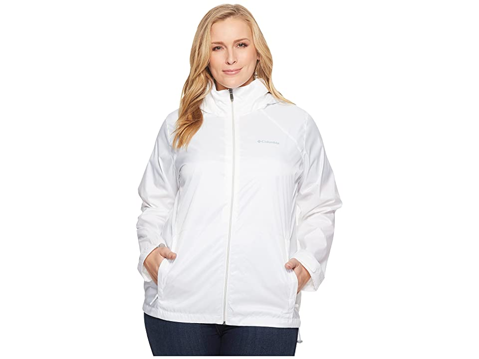Columbia Plus Size Switchback III Jacket (White) Women
