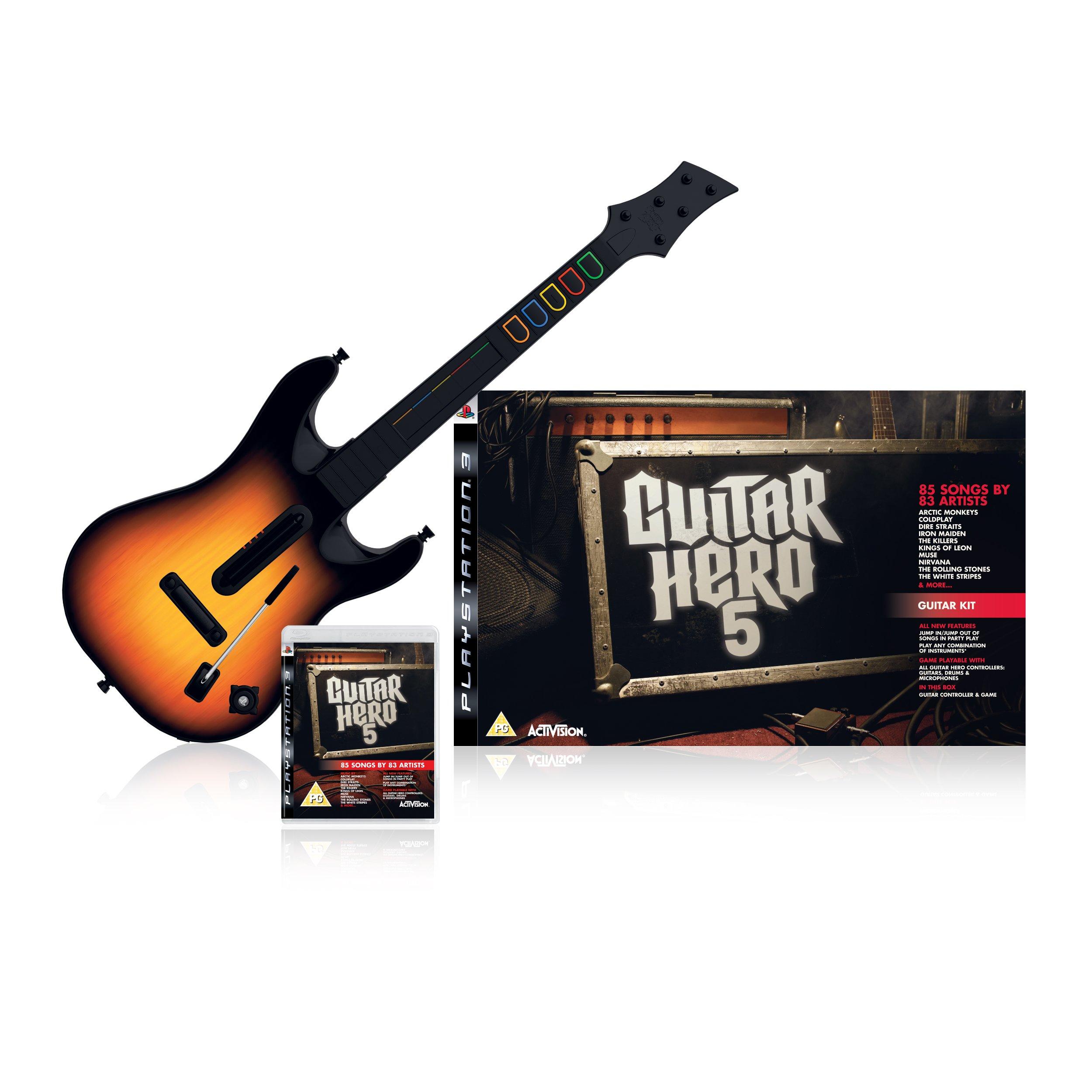 Activision Guitar Hero: 5 PlayStation 3 Inglés vídeo - Juego (PlayStation 3, Música, Soporte físico): Amazon.es: Videojuegos