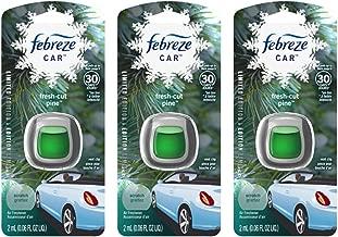 Febreze Car Vent Clip Air Freshener - Fresh-Cut Pine - Holiday Collection 2017 - Net Wt. 0.06 FL OZ (2 mL) Per Vent Clip - Pack of 3 Vent Clips