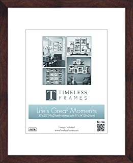 Timeless Frames 78320 Life's Great Moments Espresso Frame, 16