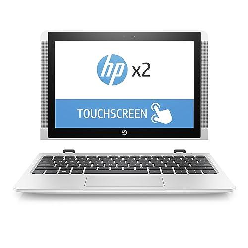 HP x2 10-p003ng (Z6K87EA) 25,7 cm (10,1 Zoll / WXGA IPS eDP) Convertible Laptop (2in1 Laptop und Tablet, Atom X5-Z8350, 128 GB eMMC, 4 GB RAM, Intel HD Graphics, Windows 10 Home) weiß