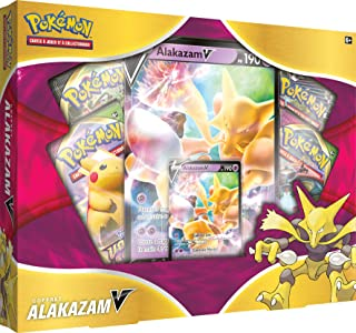 Pokémon : Coffret Alakazam - 4 boosters - Jeu de cartes à collectionner