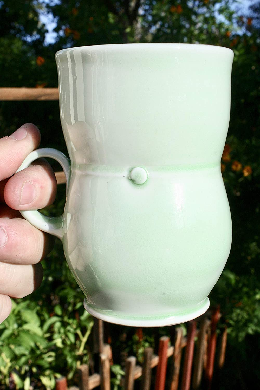 Handmade Porcelain List price Green Celadon Mug #16 Mugs Popular overseas Ceramic