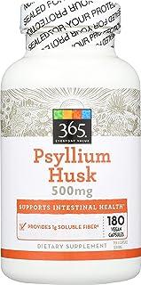 365 by WFM, Psyllium Husks 500Mg, 180 Veg Capsules