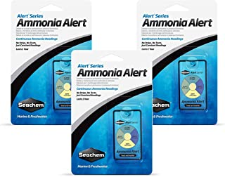 Seachem Ammonia Alert 1 Year Monitor (3 Pack)