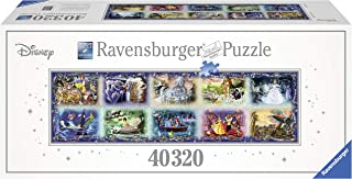 Ravensburger Memorable Disney Moments 40,320 Piece Jigsaw Puzzle - The Largest Disney Puzzle in the World