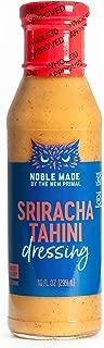 The New Primal Sriracha Tahini Dressing & Marinade, Whole30 Approved, Gluten-Free, 10 Fl Oz