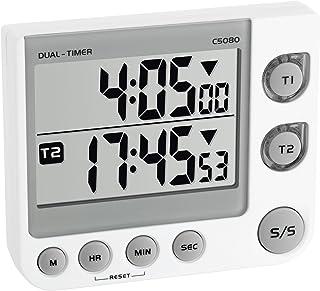 TFA Avisador Digital de Cocina de 2 Tiempos