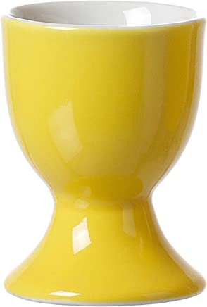 Preisvergleich für Ritzenhoff & Breker Doppio Eierbecher, Ei Becher, Eierhalter, Geschirr, Porzellan, Sonnengelb, 5 cm, 565065