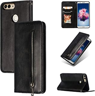 Case for Huawei Honor 9 Lite LLD-L21 Flip Leather TPU Silicone Fixing Case Cover 1