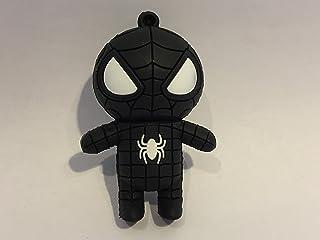 USB 16gb goma spiderman negro